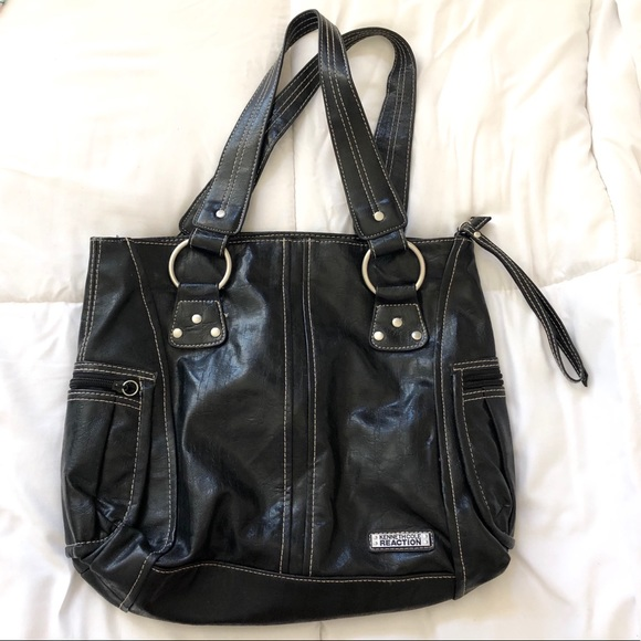 Kenneth Cole Reaction Handbags - Kenneth Cole Reaction Leather Purse